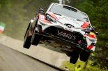 ラリー/WRC | WRCフィンランド:シェイクダウンでトヨタのハンニネンがクラッシュ。シトロエンが最速