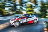 ラリー/WRC | WRC:トヨタ、ホームのフィンランド戦は5番手発進。「本格的な戦いに向け、注意して走行」