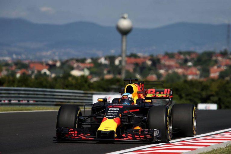 F1 | F1ハンガリーGP FP1:リカルドがトップ、マクラーレン・ホンダ勢は7・8番手と好調な滑り出し