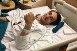 現在、香港の病院で治療を受けているアンドレ・クート