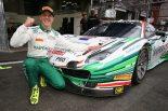 ポールポジションを獲得したジェームス・カラド 2017スパ24時間