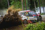 ラリー/WRC | トヨタがワン・ツー/【順位結果】WRC第9戦フィンランド SS13後
