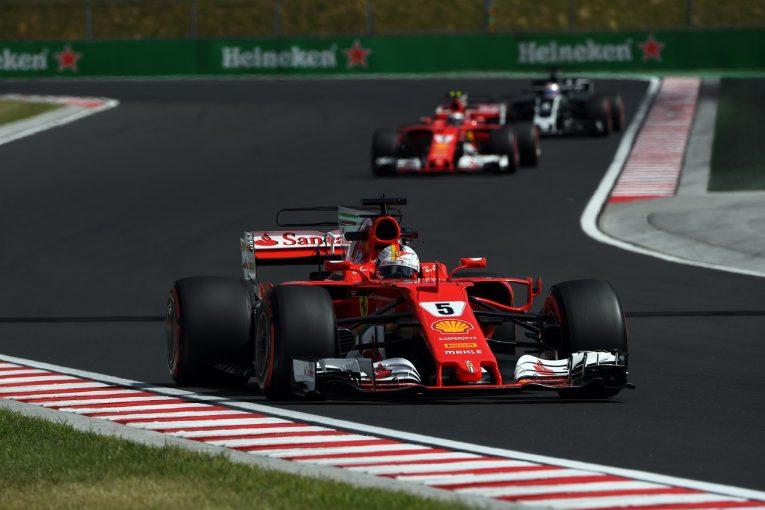 F1 | ベッテル「調子は上向き。ハンガリーでのベストレースを目指したい」フェラーリ F1金曜