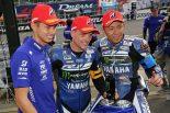 ポールポジションを獲得したヤマハ・ファクトリー・レーシング・チーム