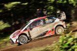 ラリー/WRC | トヨタのラッピが首位快走/【順位結果】WRC第9戦フィンランド SS21後