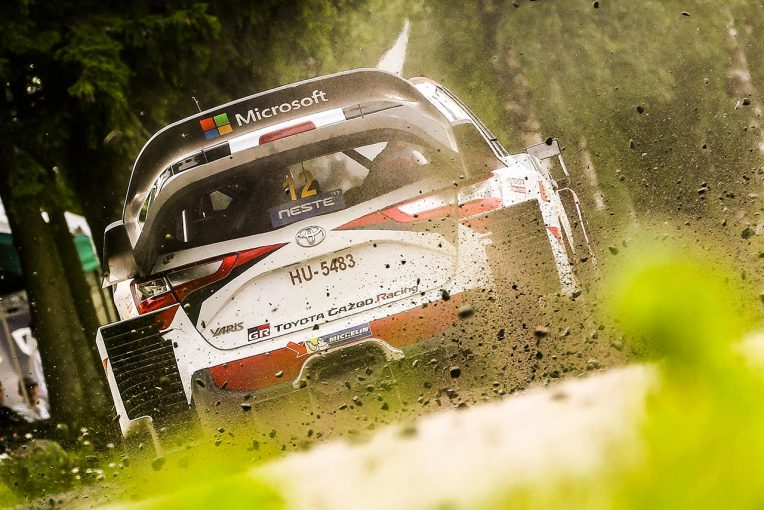 ラリー/WRC | WRC:トヨタ、2017年2勝目なるか。若手ラッピが首位快走。ラトバラはデイリタイア