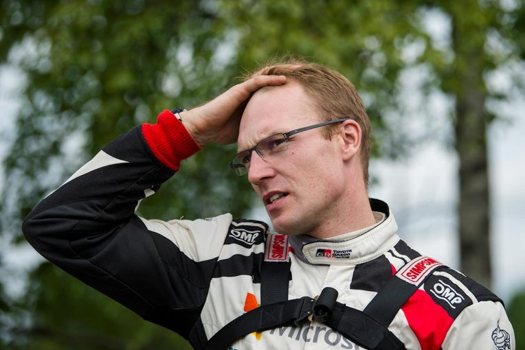 ラリー/WRC | WRC:トヨタ、2日連続首位もラトバラにマイナートラブル。「今まで発生したことのない問題」