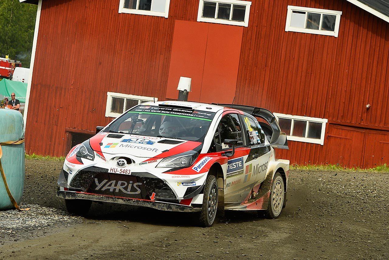 WRC:トヨタ、2日連続首位もラトバラにマイナートラブル。「今まで発生したことのない問題」