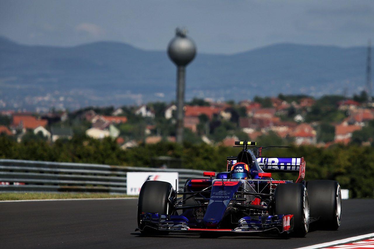2017年F1第11戦ハンガリーGP カルロス・サインツJr.(トロロッソ)