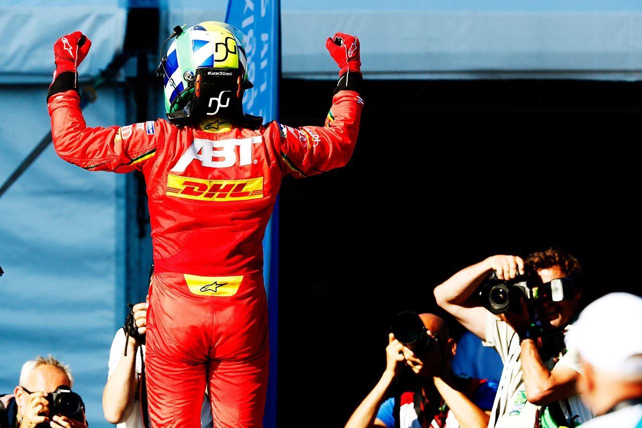 フォーミュラE:最終戦モントリオールラウンドでディ・グラッシ快勝。6点差でランキング首位