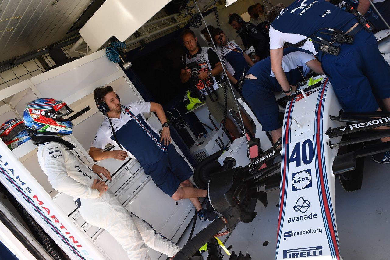 2017年F1第11戦ハンガリーGP フェリペ・マッサの代役として急きょ出場が決まったポール・ディ・レスタ(ウイリアムズ)
