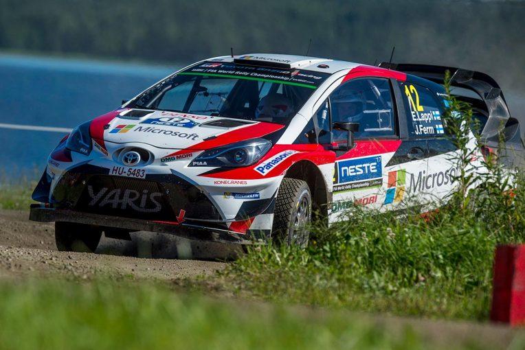 """ラリー/WRC   WRC:トヨタの""""ホーム""""、フィンランド戦で若手ラッピが初優勝。チームはシーズン2勝目"""
