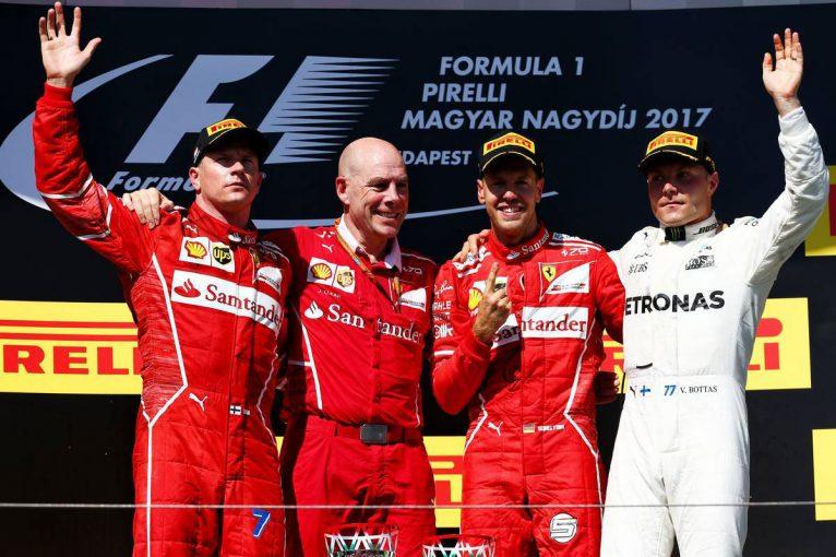 F1   【順位結果】F1第11戦ハンガリーGP決勝