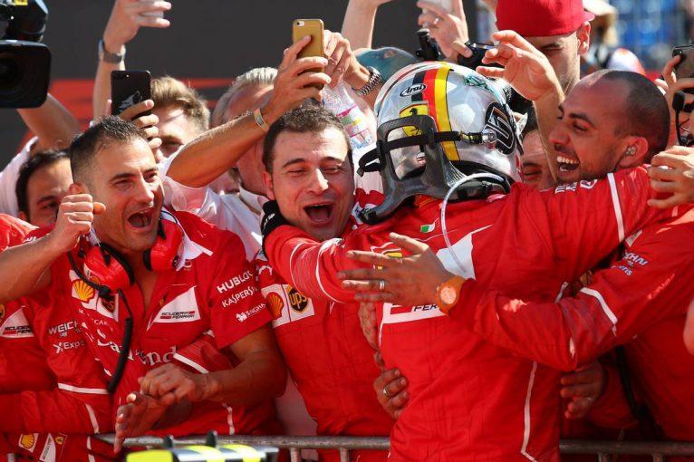 F1 | F1ハンガリーGP決勝:ベッテルが今季4勝目、マクラーレン・ホンダはダブル入賞
