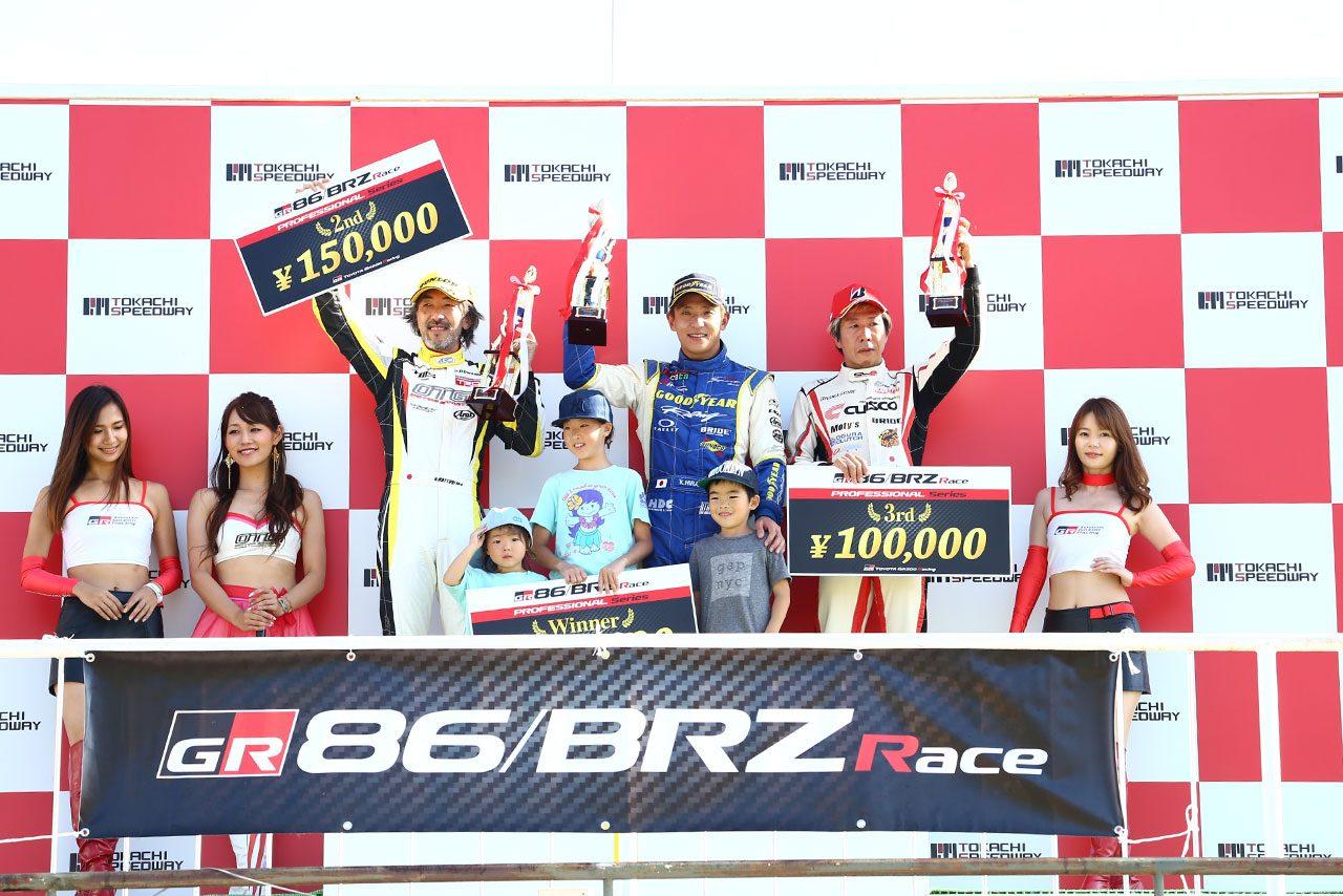 86/BRZ第5・6戦:好調の平中克幸が地元十勝戦で連勝。ランキング3番手へ