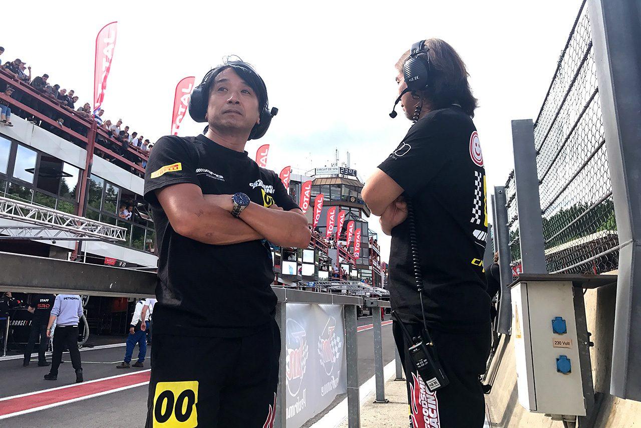 """GOODSMILE RACING & Team UKYOのスパ24時間挑戦は無念の結果に。『""""痛い刺激""""をもらった』"""