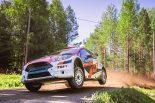 ラリー/WRC | 2度目のラリー・フィンランドに挑んだ新井大輝と勝田貴元、速さみせるも完走ならず
