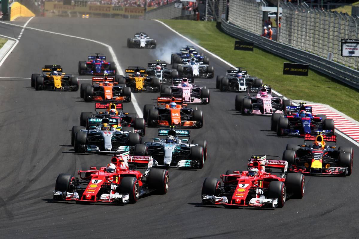 2017年F1第11戦ハンガリーGP