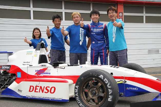 Le Beausset Motorsports 2017スーパーFJ第4戦もてぎ レースレポート
