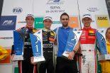 レース3で3位表彰台を獲得した周冠宇