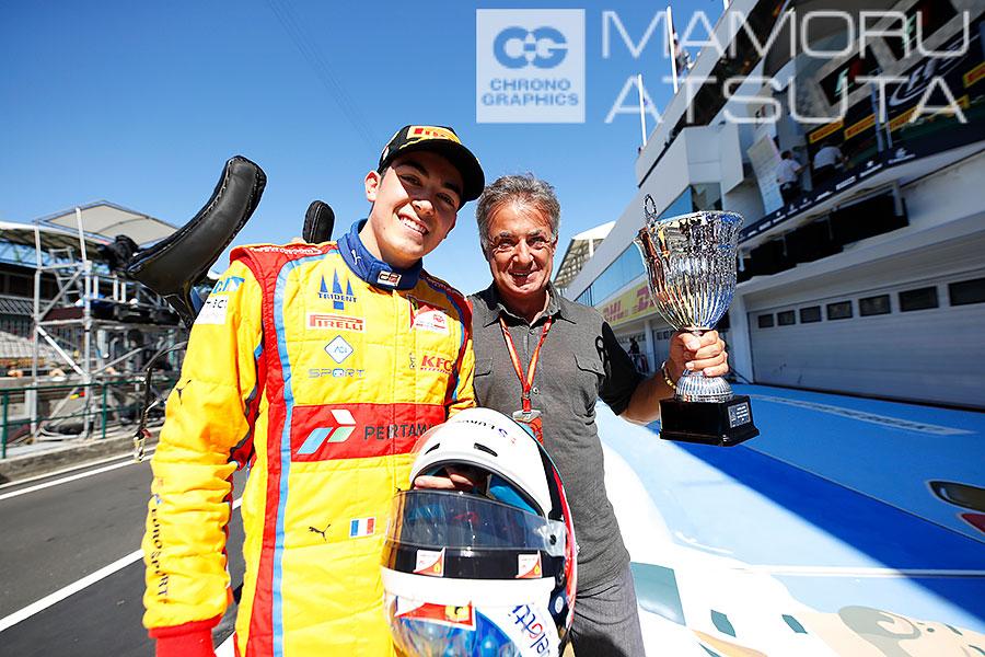 モタスポブログ | Shots!──アレジ選手のGP3今季2勝目にお父さんも大喜び@熱田カメラマン F1ハンガリーGP 日曜その1