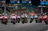 MotoGP第9戦ドイツGP スタートシーン