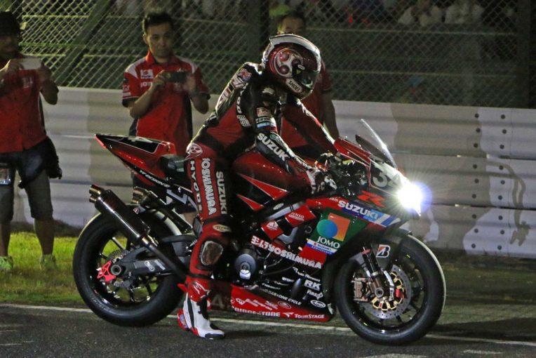 MotoGP | ヨシムラの歴代マシンが夜の鈴鹿サーキットで快音響かす/鈴鹿8耐トピックス