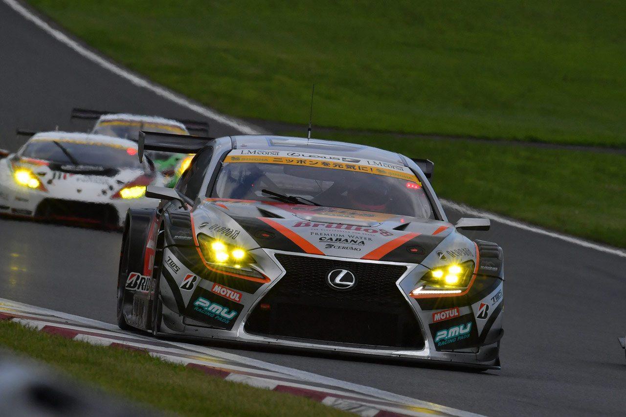 JMS P.MU LMcorsa RC F GT3 スーパーGT第5戦富士 決勝レポート
