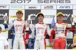 FIA-F4第10戦富士 表彰台