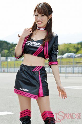 レースクイーン   有村優花(EXEDY RACING GIRLS/2017SGT)