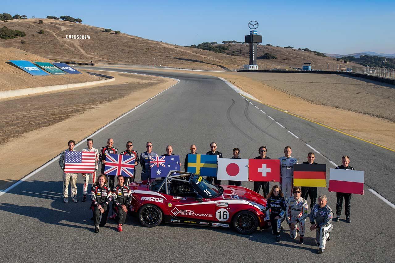 優勝賞金825万円。世界一のMX-5レーサー決定戦『グローバルMX-5カップチャレンジ』概要発表