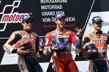 2017MotoGP第11戦オーストリアGP 決勝トップ3