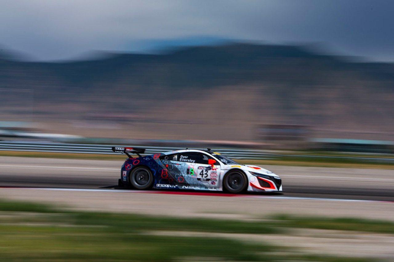 PWC:ユタのスプリントX戦で、RTRのアキュラNSX GT3が待望の初勝利