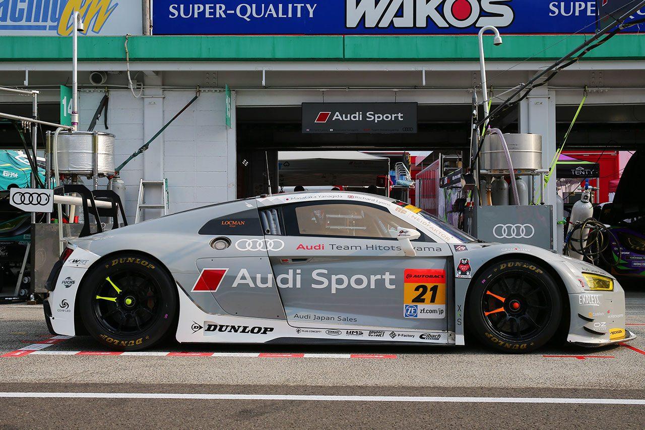 つねに限界で走れるかが肝/GT300マシンフォーカス:アウディR8 LMS