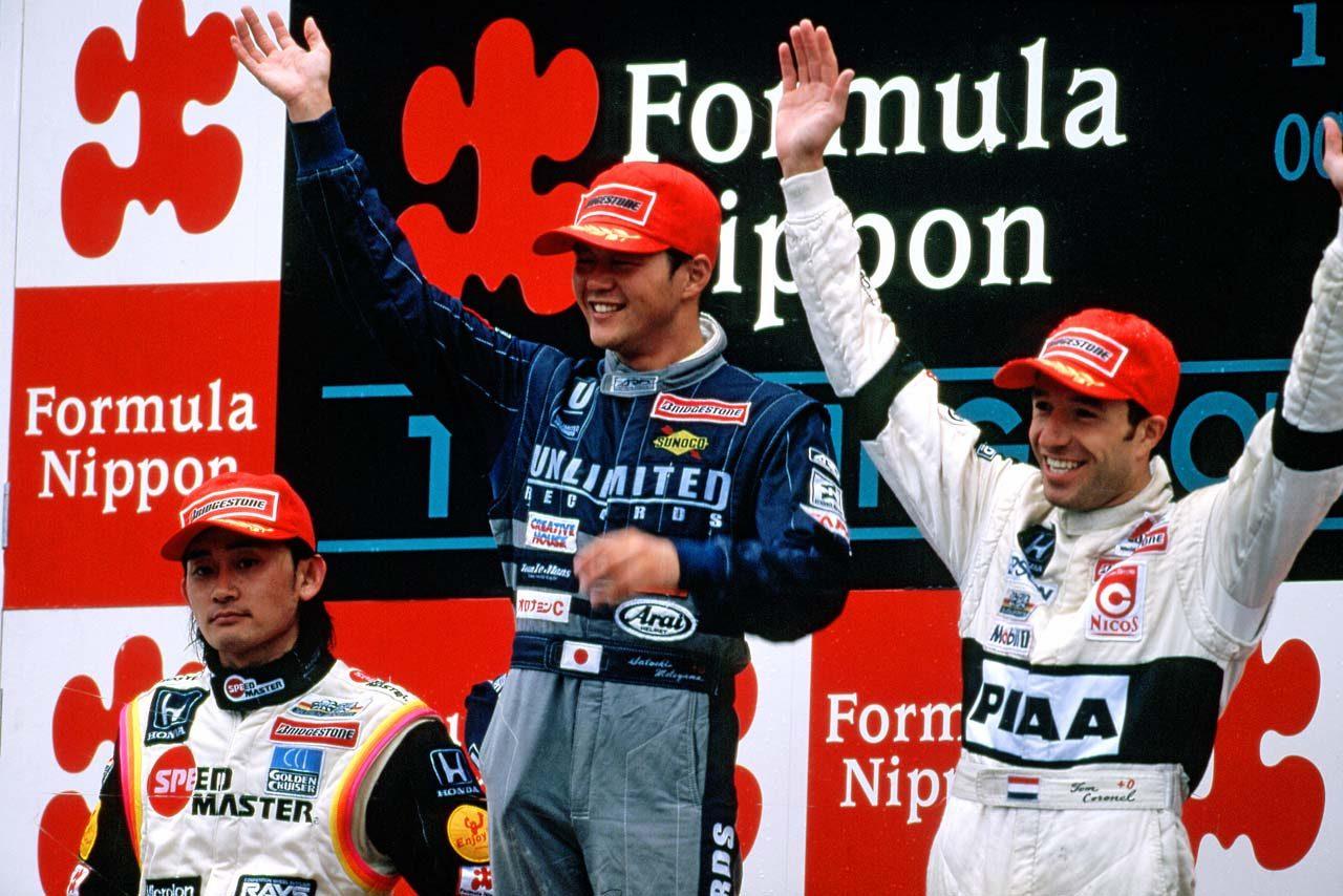1999年フォーミュラ・ニッポン第9戦もてぎの表彰式