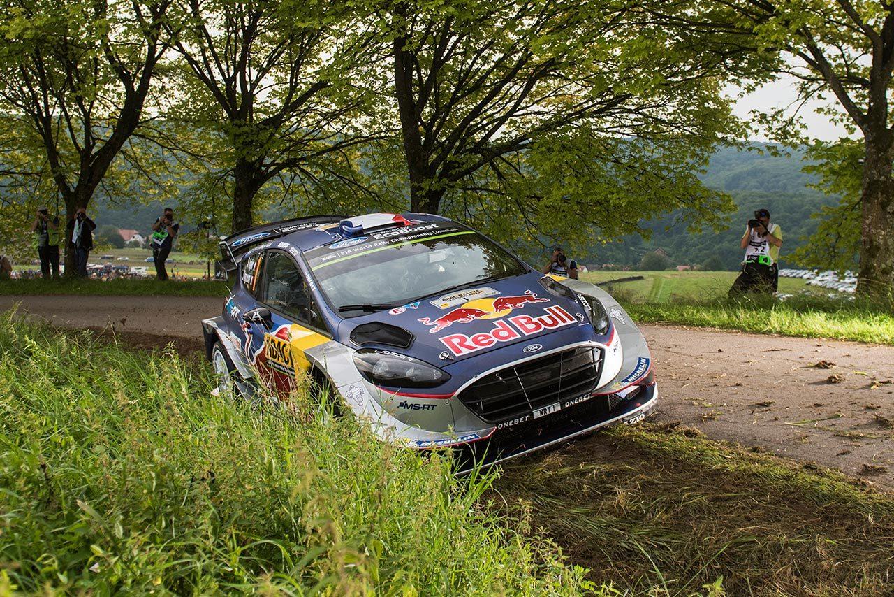 WRC:ラリー・ドイチェランドのシェイクダウンはヌービルが最速。トヨタはラトバラ6番手
