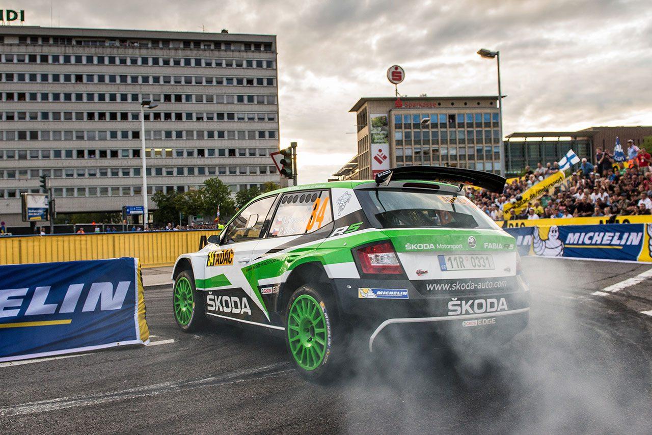 WRC2のコペッキーが総合首位スタート/【順位結果】WRC第10戦ドイチェランド SS1後