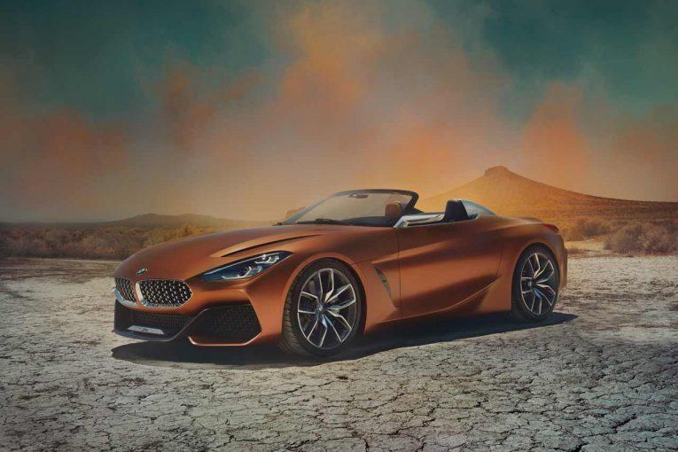 クルマ | ダイナミック&スポーティ。BMW、『コンセプトZ4』を世界初公開