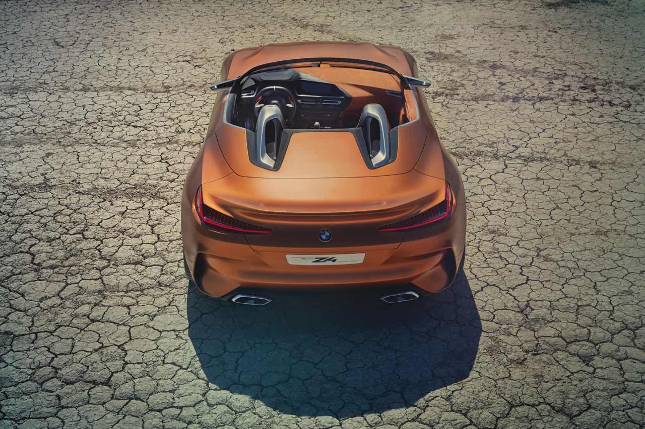 ダイナミック&スポーティ。BMW、『コンセプトZ4』を世界初公開