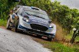 ラリー/WRC | WRCドイチェランド:2日目はタナクとミケルセンが首位争い。トヨタは2台に不運