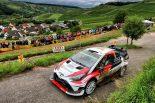 ラリー/WRC | WRC:トヨタ、降雨のドイツ戦デイ2は2台にアクシデント。マキネン「ラッピのクラッシュは残念」