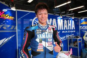 JSB1000で初のポールポジションを獲得した野左根航汰(YAMAHA FACTORY RACING TEAM #5)