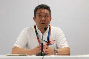 山本雅史モータースポーツ部長
