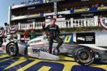 海外レース他 | インディ第14戦:逆境を跳ねのけたパワーが勝利。ポールの琢磨は原因不明の失速