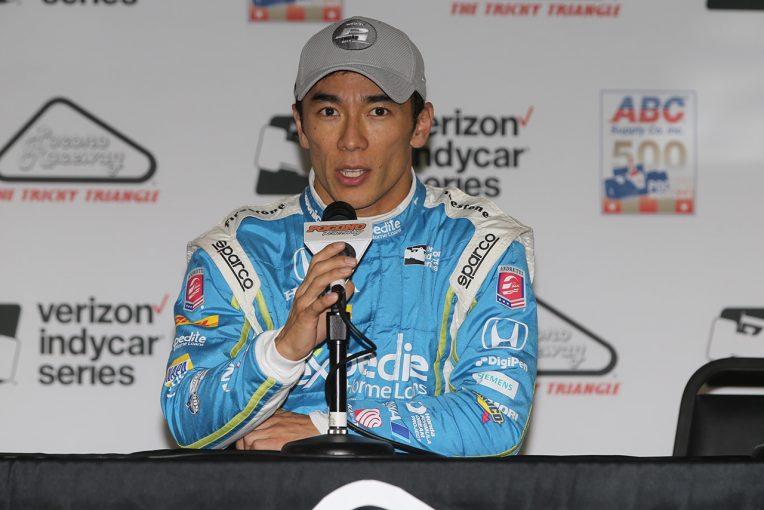 海外レース他 | ポールスタートの琢磨。決勝での謎の失速に「どうすることもできなかった」と悔しむ