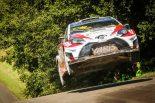 ラリー/WRC | WRC:ハンニネンが順位を上げ4位完走。「ターマックでの競争力に自信を得た」とマキネン