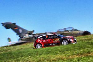 アンドレアス・ミケルセン(シトロエンC3 WRC) 2017年WRC第10戦ドイチェランド