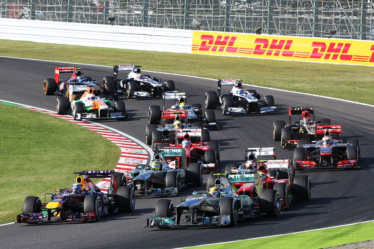 2013年F1日本GPスタート