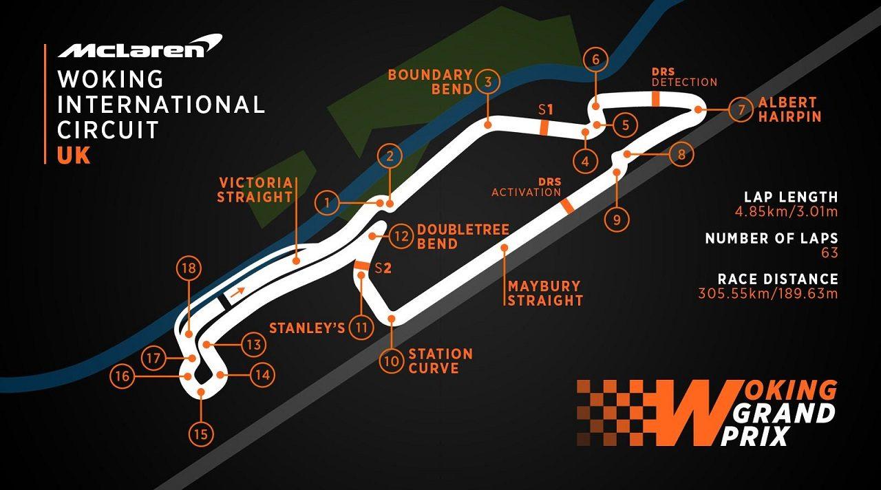 """マクラーレンがホームGPの舞台として想定する""""ウォーキング・インターナショナル・サーキット"""""""