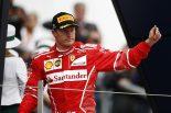 F1 | フェラーリF1残留決定のライコネン「1年ごとの契約がいい」